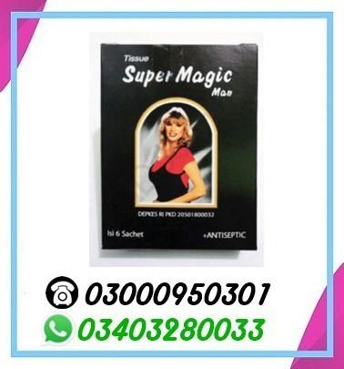 Super magic man tissue