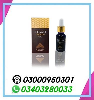 Titan Gold Oil in Pakistan