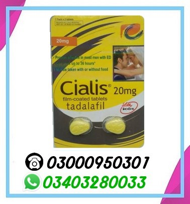 Cialis 2 Tablets
