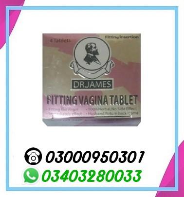 Dr. James Fitting Vagina 4 Tablets